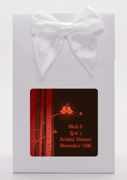 Fall Love Birds - Bridal Shower Goodie Bags