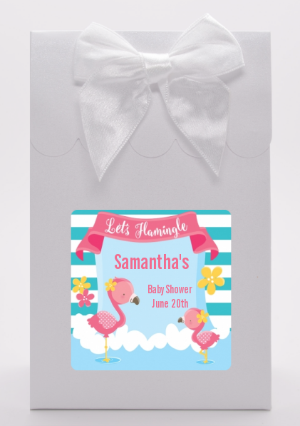 Flamingo - Baby Shower Goodie Bags Baby Shower