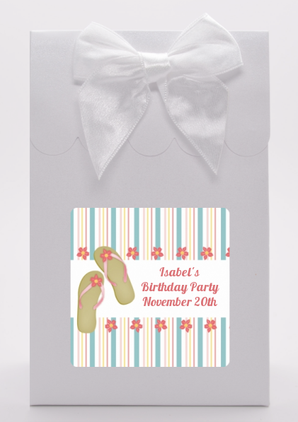 Flip Flops - Birthday Party Goodie Bags