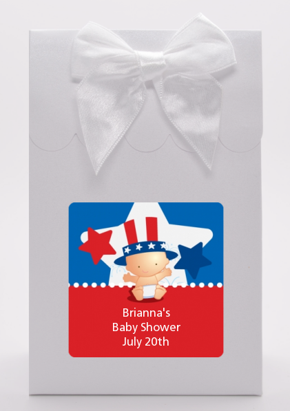 Fourth Of July Little Firecracker - Baby Shower Goodie Bags