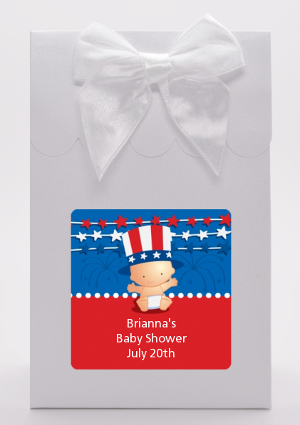 Fourth Of July Stars & Stripes - Baby Shower Goodie Bags