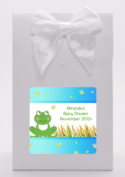 Froggy - Baby Shower Goodie Bags