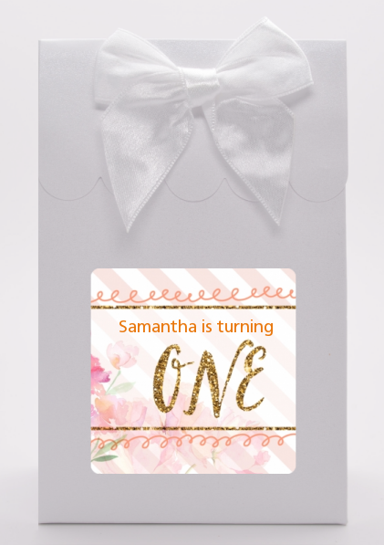 Fun to be One - 1st Birthday Girl - Birthday Party Goodie Bags