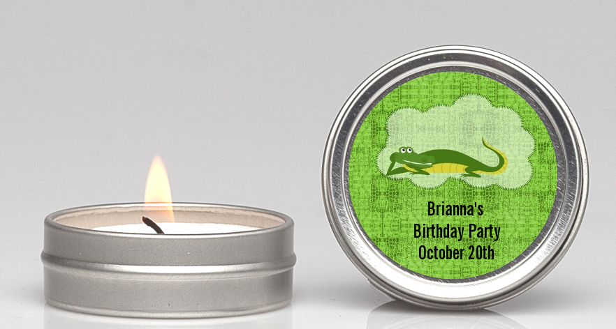 Gator Candle Favors Candles Favors