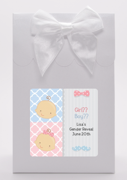 Gender Reveal - Baby Shower Goodie Bags