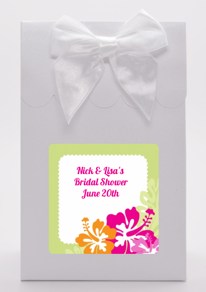 Hibiscus - Bridal Shower Goodie Bags
