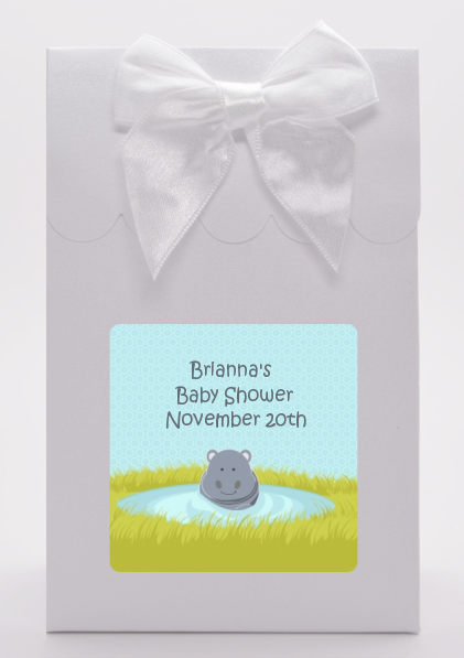 Hippopotamus Boy - Baby Shower Goodie Bags