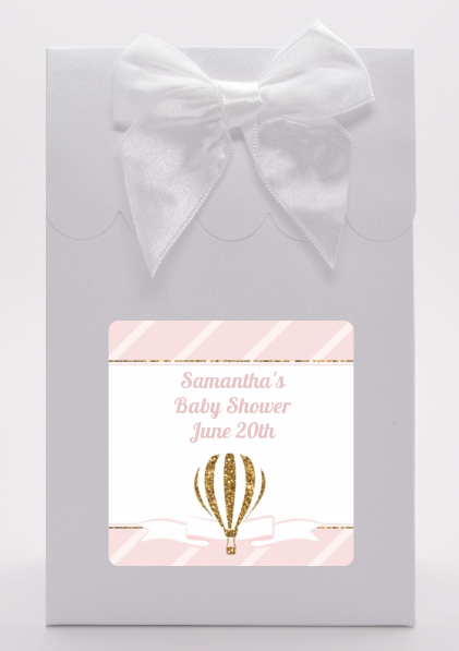 Hot Air Balloon Gold Glitter - Baby Shower Goodie Bags