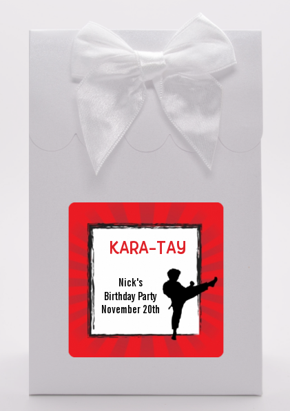 Karate Kid - Birthday Party Goodie Bags