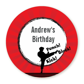 Karate Kid - Personalized Birthday Party Table Confetti
