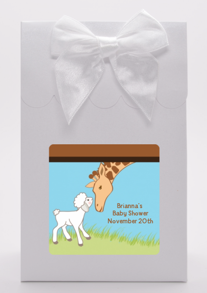 Lamb & Giraffe - Baby Shower Goodie Bags