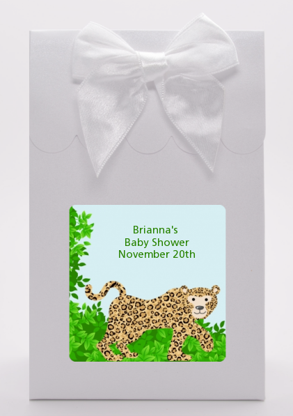 Leopard - Baby Shower Goodie Bags