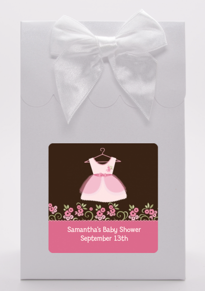 Little Girl Outfit - Baby Shower Goodie Bags