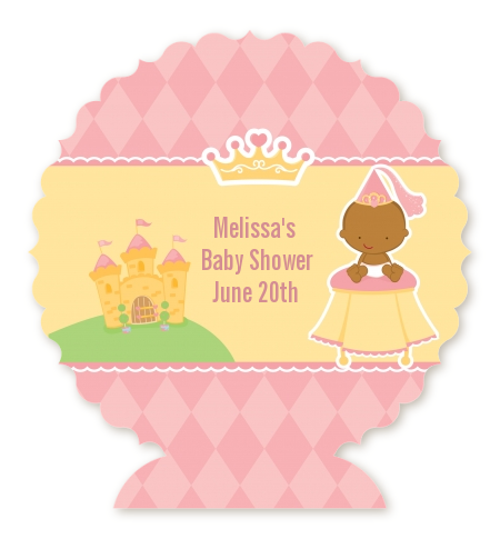 Little Princess African American Baby Shower Table Centerpiece