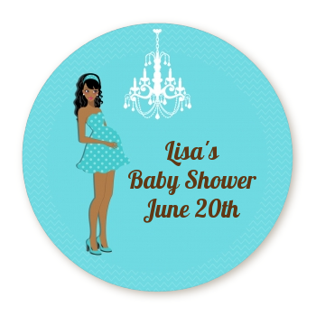 Modern Mommy Crib It's A Boy - Personalized Baby Shower Table Confetti Option 1
