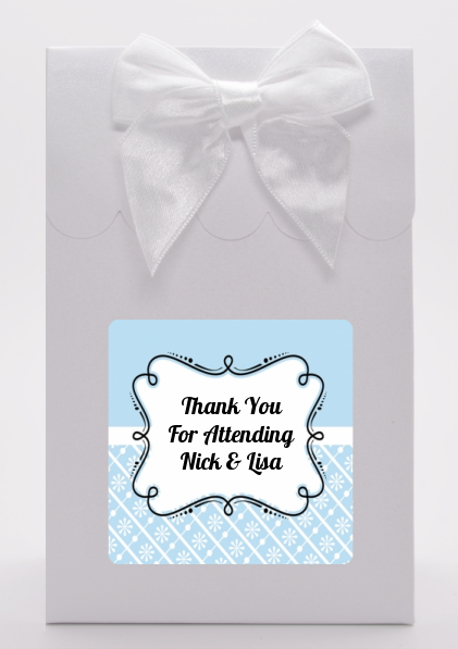 Modern Thatch Light Blue -  Goodie Bags