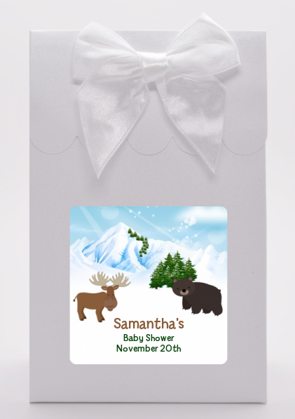 Moose and Bear - Baby Shower Goodie Bags