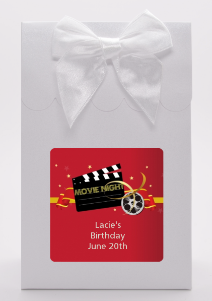 Movie Night - Birthday Party Goodie Bags