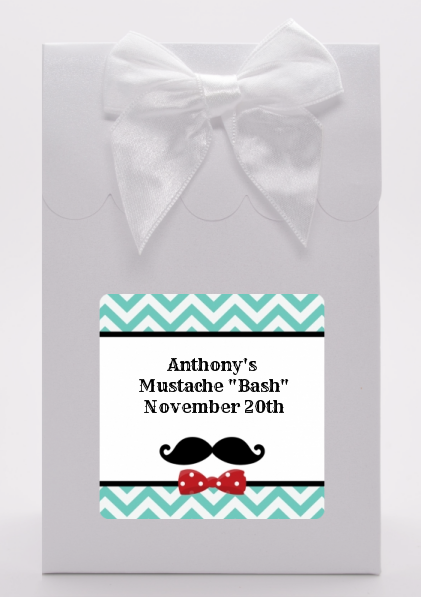 Mustache Bash - Birthday Party Goodie Bags