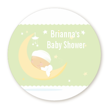 Over The Moon - Personalized Baby Shower Table Confetti