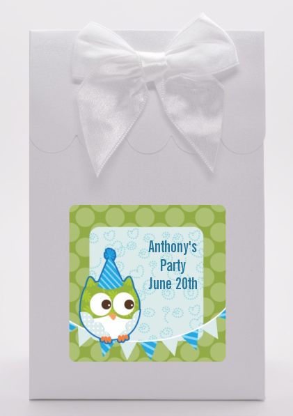 Owl Birthday Boy - Birthday Party Goodie Bags