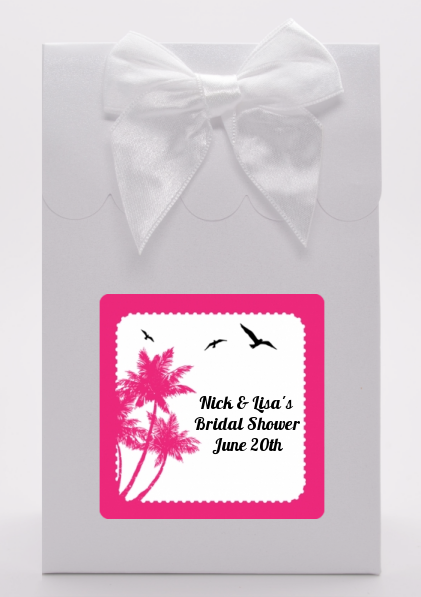Palm Tree - Bridal Shower Goodie Bags