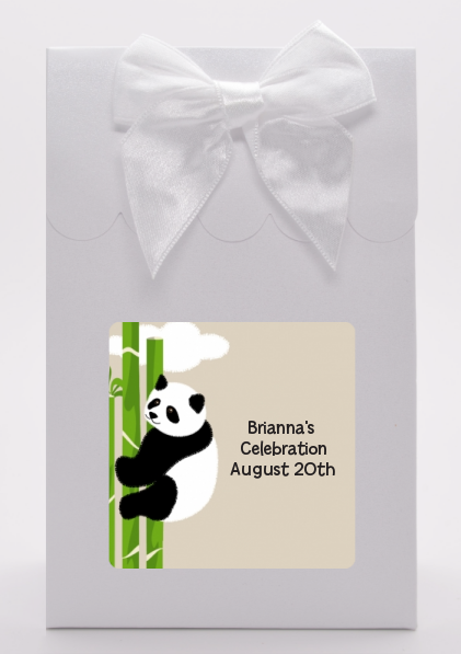 Panda - Baby Shower Goodie Bags