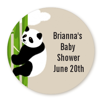 Panda Personalized Sticker Labels Panda Baby Shower Sticker Labels