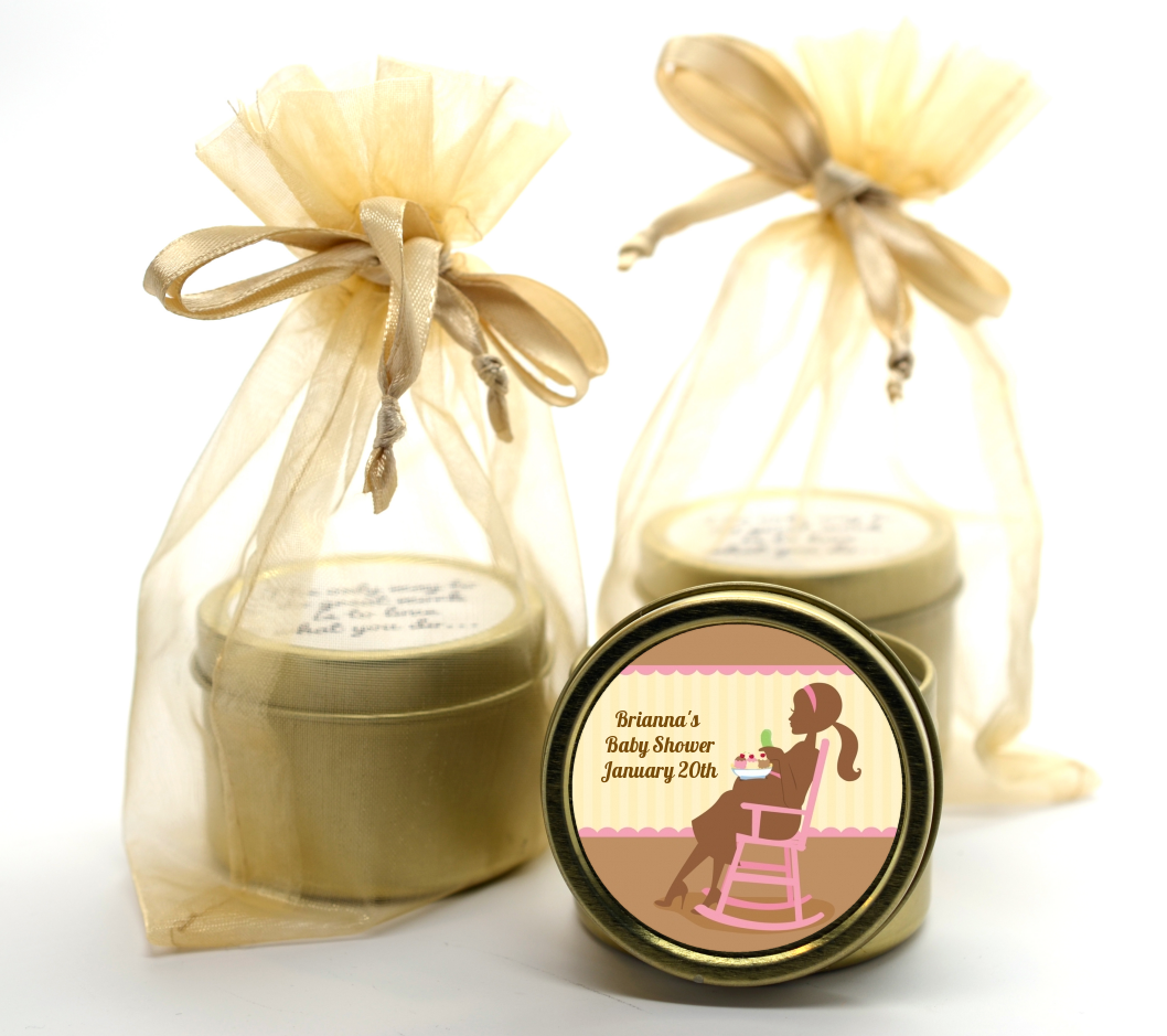 Pickles & Ice Cream Gold Tin Candle Favors | Candles & Favors