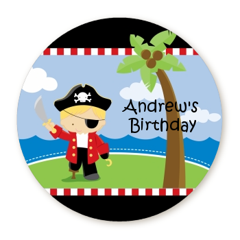 Pirate - Personalized Birthday Party Table Confetti
