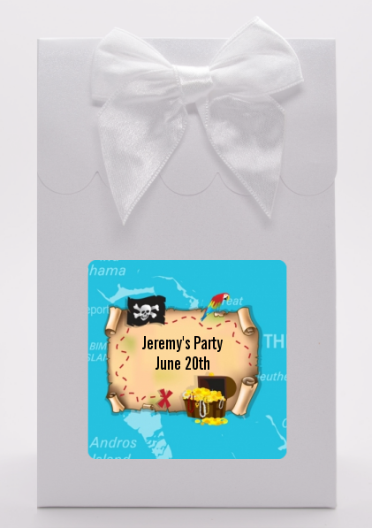 Pirate Treasure Map - Birthday Party Goodie Bags