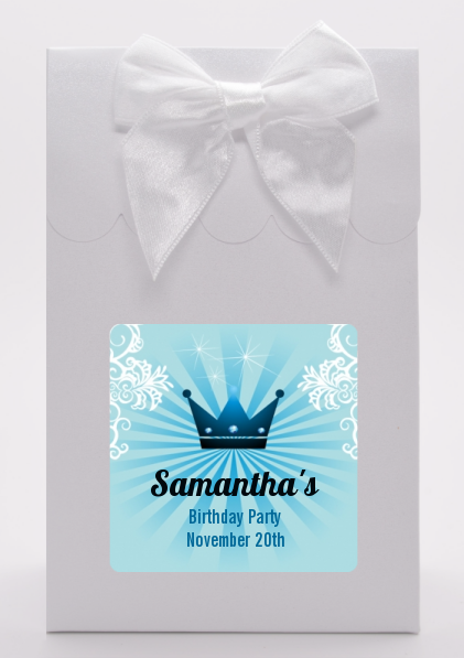 Prince Royal Crown - Birthday Party Goodie Bags