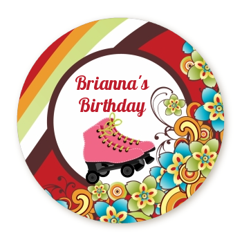 Roller Skating - Personalized Birthday Party Table Confetti