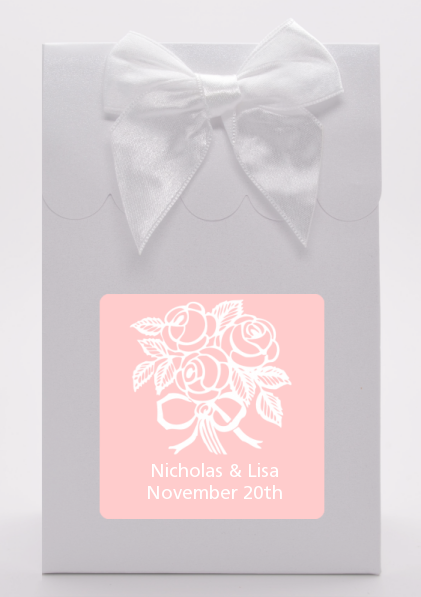 Roses - Bridal Shower Goodie Bags