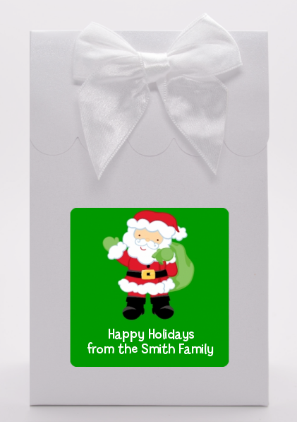 Santa's Green Bag - Christmas Goodie Bags