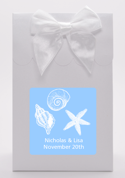 Sea Shells - Bridal Shower Goodie Bags