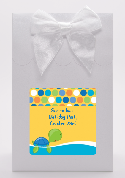 Sea Turtle Boy - Birthday Party Goodie Bags