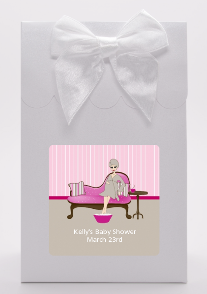Spa Mom Pink - Baby Shower Goodie Bags
