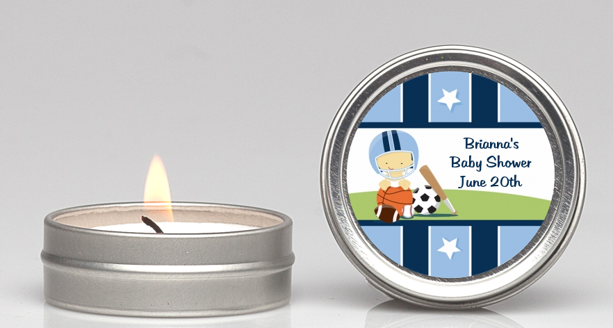 Sports Baby Asian Candle Favors Candles Favors