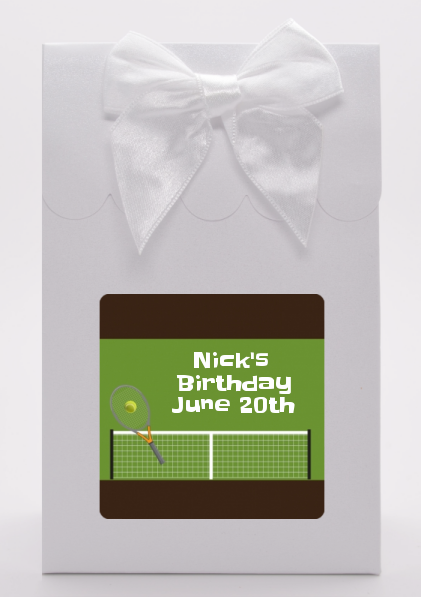 Tennis - Birthday Party Goodie Bags