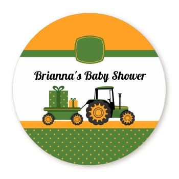 Tractor Truck - Personalized Baby Shower Table Confetti