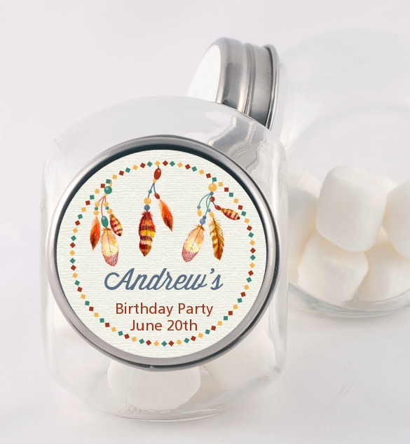 Dream Catcher Birthday Party Candy Jars Candles Favors Delectable Dream Catcher Jar