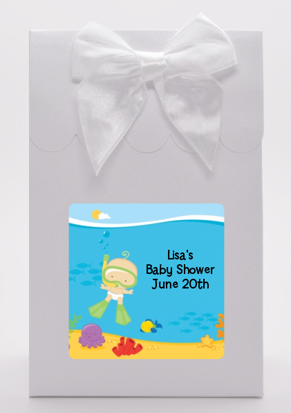 Under the Sea Baby Snorkeling - Baby Shower Goodie Bags