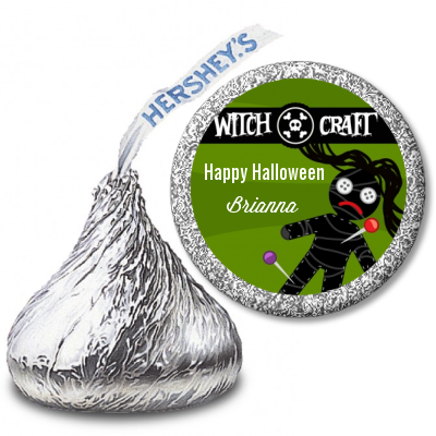 Witch Craft - Hershey Kiss Halloween Sticker Labels