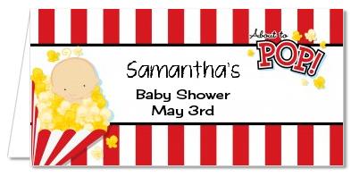 About To Pop ® - Personalized Baby Shower Place Cards