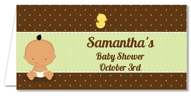 Baby Neutral Hispanic - Personalized Baby Shower Place Cards