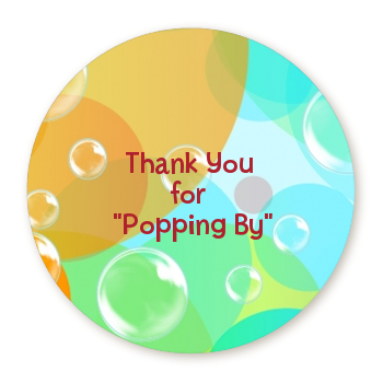 Blowing Bubbles Personalized sticker labels   Blowing ...