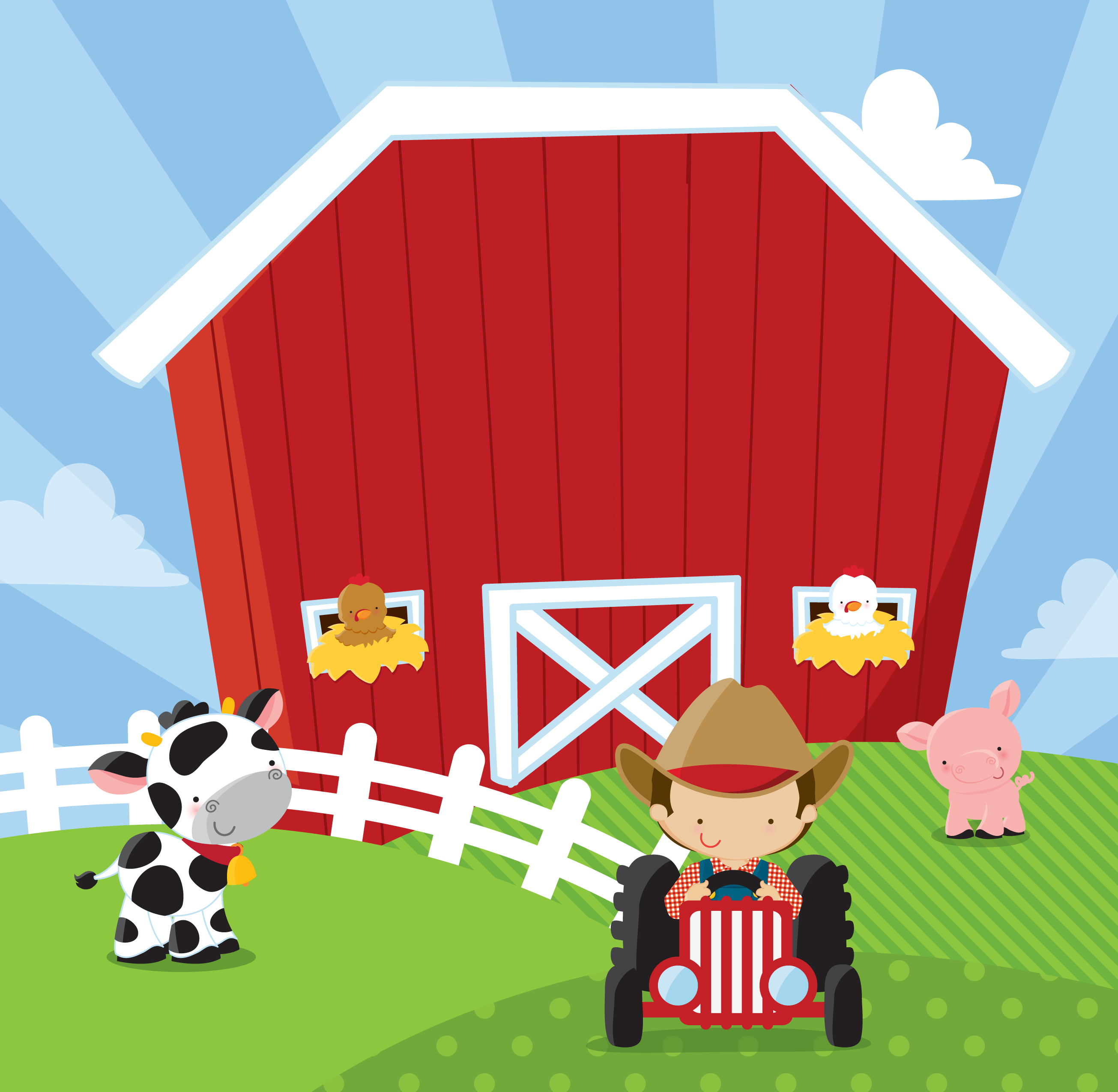 Farm Boy Birthday Party Theme thumbnail