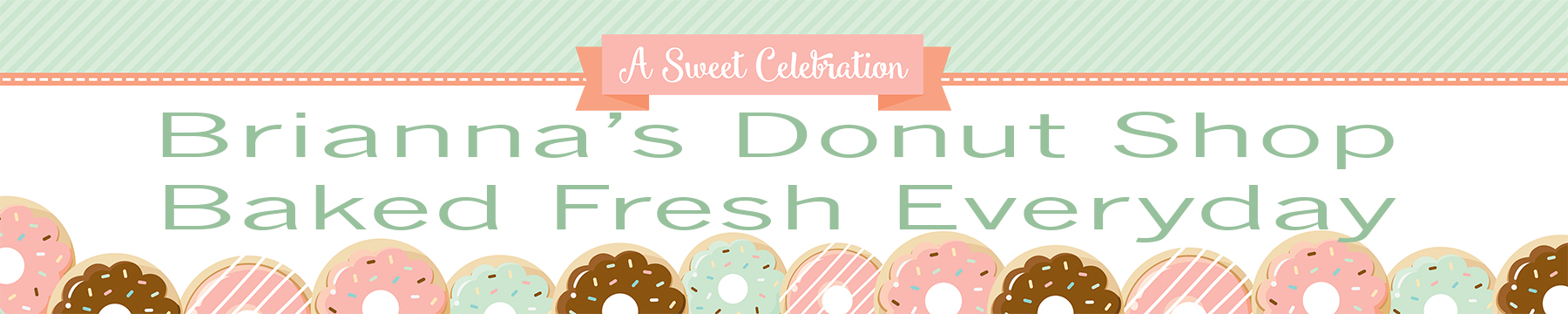 Donut Party - Personalized Birthday Party Banners thumbnail