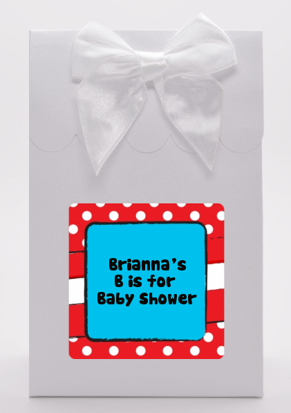 dr seuss inspired baby shower goodie bags candles favors
